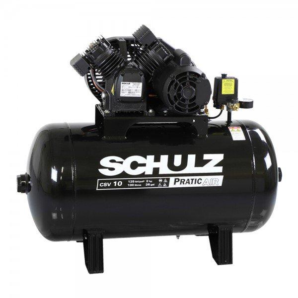 Compressor Ar Schulz Pratic CSV 10100