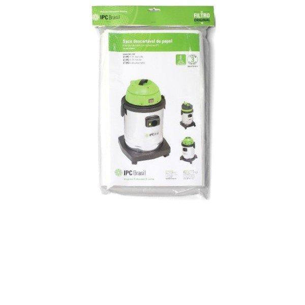 3 Filtros Descartáveis IPC Brasil 35 Branco