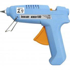 pistola cola quente hk hm 100 100w bivolt hikari