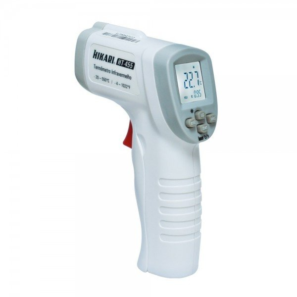 termometro infravermelho ht 455 hikari
