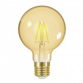 lampada led filamento vintag globo g80 4w