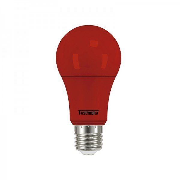 lampada led tkl colors vermelha 5w