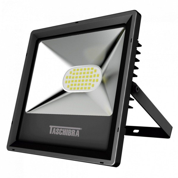 refletor tr led 30 30w 6500k preto