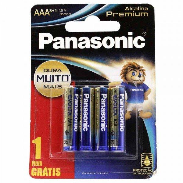 pilha alcalina premium panasonic aaa 80e