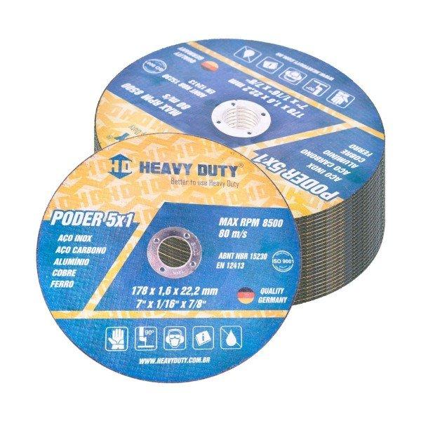 disco de corte inox 5x1 115x1x222mm heavy duty 10 pecas d nq np 622544 mlb28018240804 082018 f