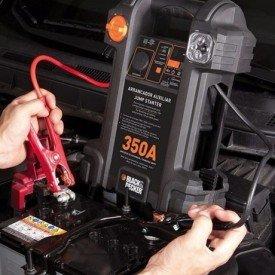 auxiliar de partida 350a 12 v com compressor e luz de emergencia integrado black decker incorzull