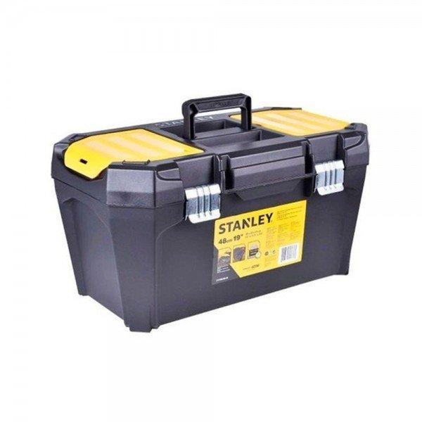 caixa plastica empilhavel 19pol stst80346 40 stanley incorzul