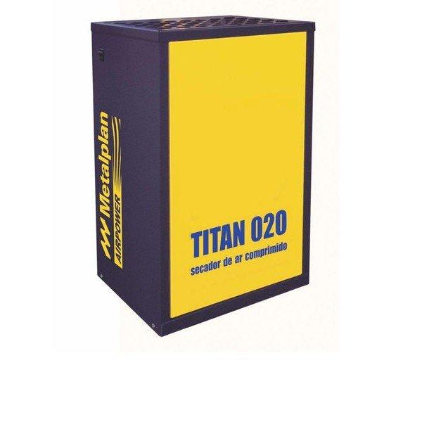 secador de ar comprimido 20pcm titan 020 metalplan