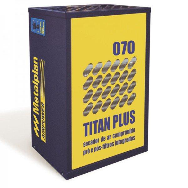 secador de ar comprimido 70pcm titan plus 070 220v metalplan