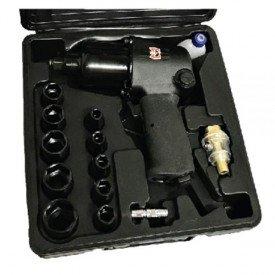 Kit chave de impacto pneumtica meia Pol SGT 0531K  Sigma Tools