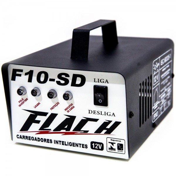 Carregador Inteligente de Bateria F10 SD   Flach   Incorzul