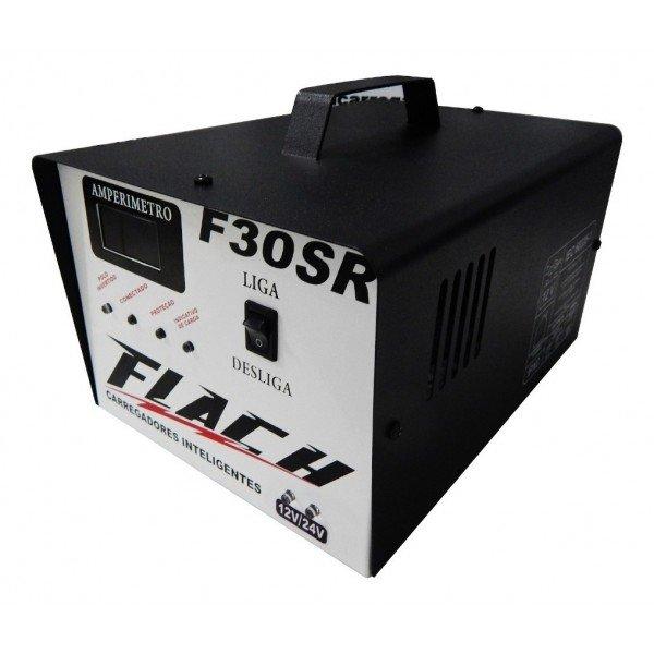 Carregador Inteligente de Bateria F30 SR   Flach   Incorzul