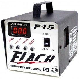 Carregador Inteligente de Bateria F15   Flach