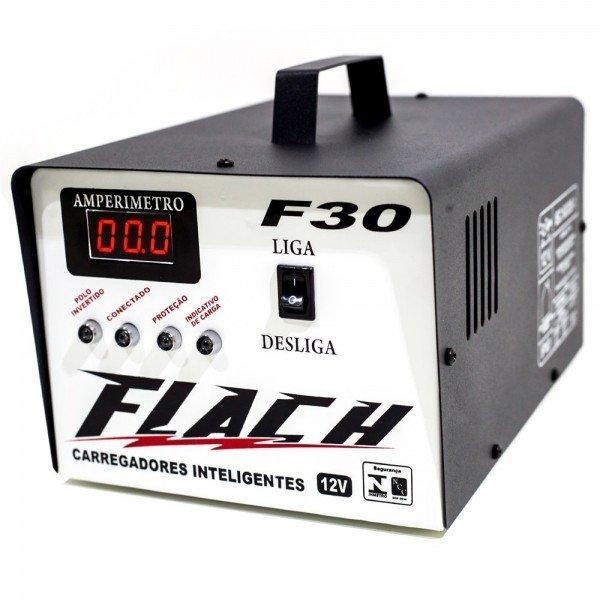 Carregador Inteligente de Bateria F30   Flach   Incorzul