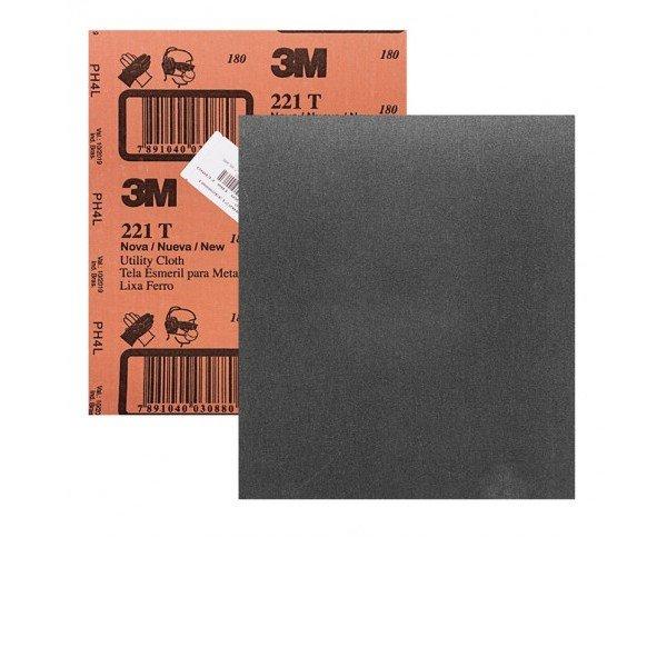Folha de Lixa D gua P180 225x275MM   3M   Incorzul