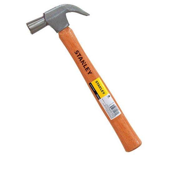 Martelo unha 27 mm com cabo de madeira   Stanley   Incorzul