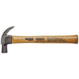 martelo de unha 25mm basic com cabo em madeira envernizada tramontina incorzul