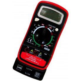 Multimetro Digital com Teste de Rede e Telefonia HY6300   Lee Tools   Incorzul