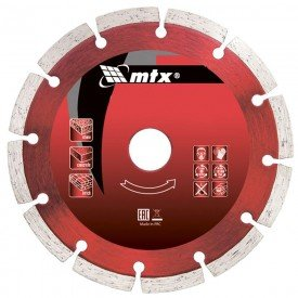 disco de corte diamantado segmentado 115 x 2 0 x 22 2 mm mtx incorzul