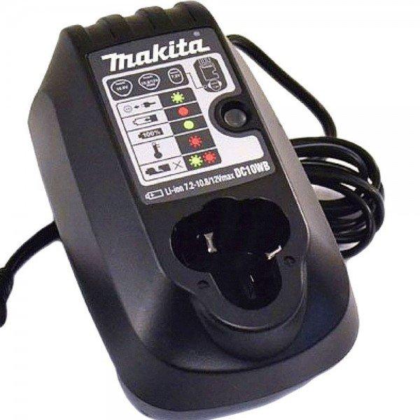 carregador de bateria dc10wb makita incorzul