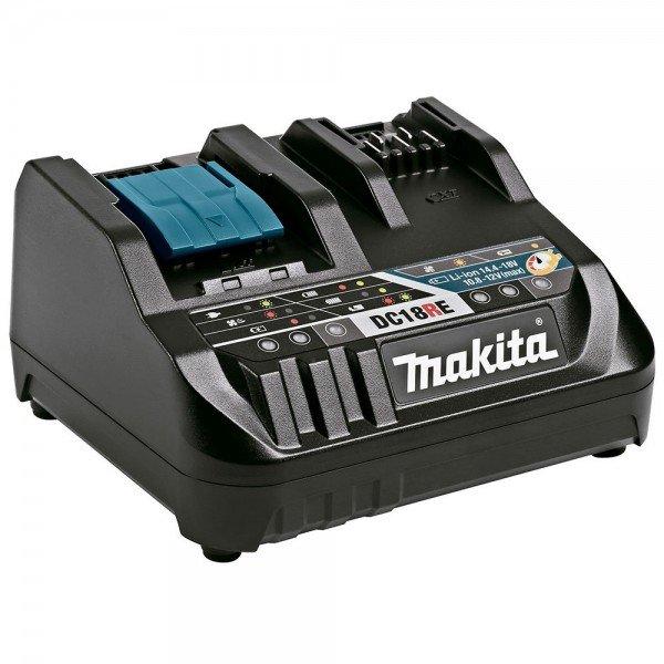 carregador rapido de voltagem dupla dc18re makita incorzul