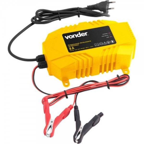 carregador bateria inteligente cib 100 vonder incorzul