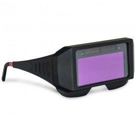 oculos para solda auto escurecimento boxer incorzul