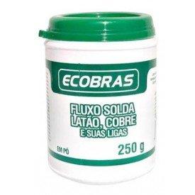 Fluxo de Solda Lato Cobre e Suas Ligas 250G Ecobras   Oxigen   Incorzul