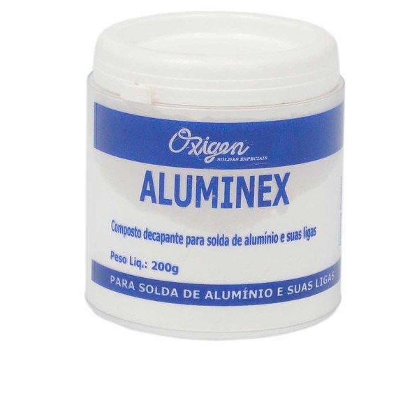 Fluxo Para Solda Em P 200g Aluminex   Oxigen   Incorzul