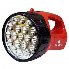 lanterna 19 leds recarregavel worker incorzull