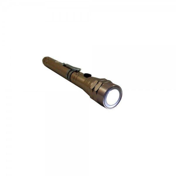 lanterna led aluminio telescopica a bateria disflex incorzul