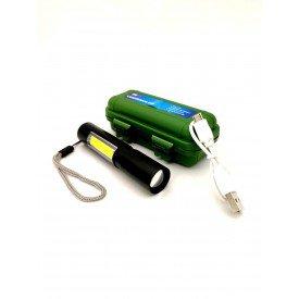 mini lanterna super potente recarregavel usb c zoom luatek incorzul