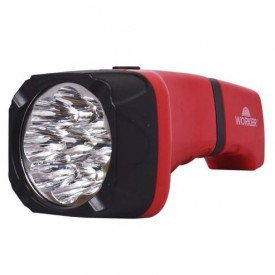 lanterna recarregavel confort 9 led s worker incorzul