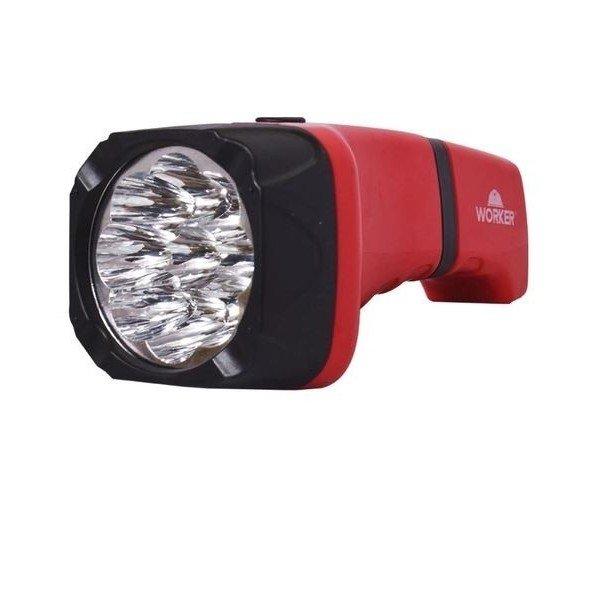 lanterna recarregavel confort 9 led s worker incorzul