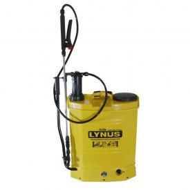pulverizador costal pl 18b 18 litros a bateria lynus incorzul
