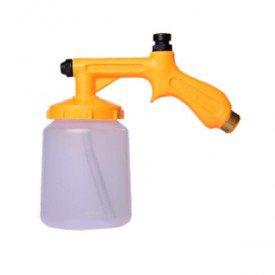 Pulverizador de Ar Comprimido Bico Curto com Caneca P 01 C   Mac Loren   Incorzul