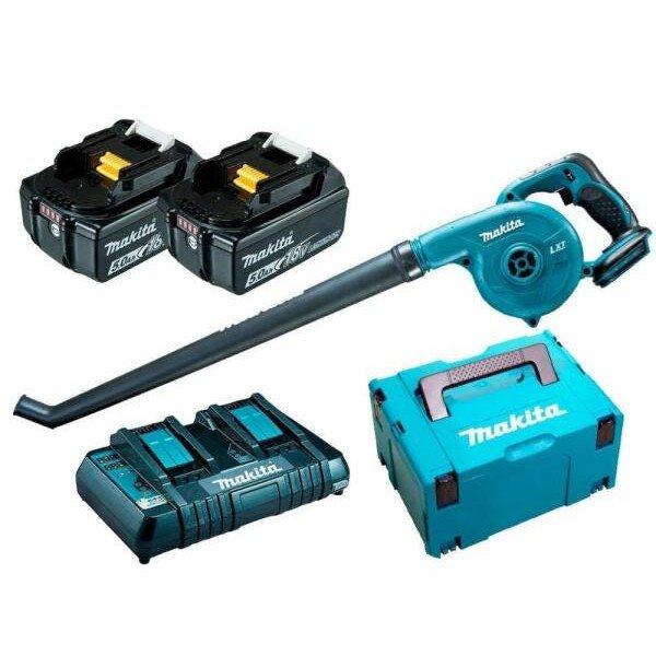 soprador bateria dub183z kit bateria makita incorzull