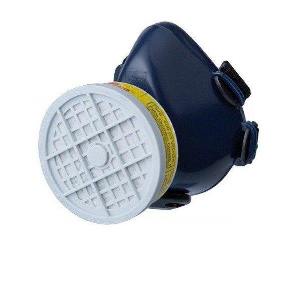Mascara respiratria 1 4 facial com 1 filtro para pintura   Worker   Incorzul