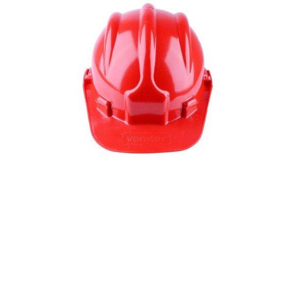 capacete com aba vermelho vonder incorzul