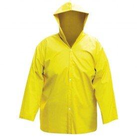 Capa Chuva Amarela G com Forro Worker   Incorzul