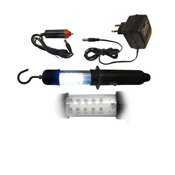 luz emergencia pendente recarregavel 10 led 690003 tools incorzul