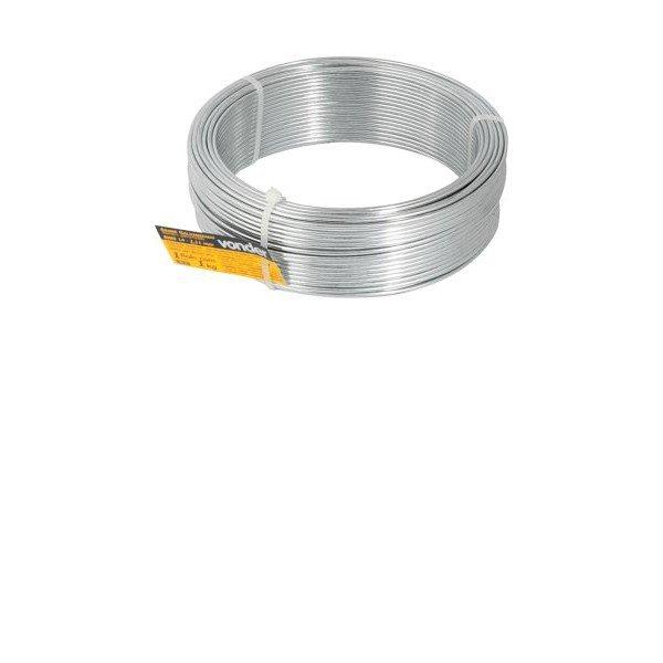 Arame galvanizado comercial BWG 14 211mm   Vonder   Incorzul