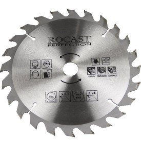 disco de serra circular para madeira 714 rocast serra714x24d1