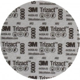 disco trizact p5000 152mm 6 pol pn30662 3m casa do soldador 1