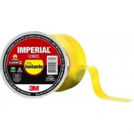 15757 1 g fita isolante 18mm x 20m imperial amarelo 3m