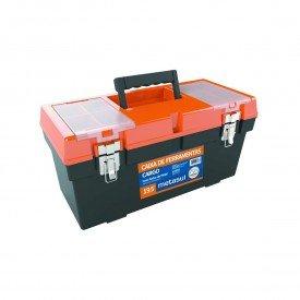 caixa ferramenta cargo fecho metal 50x22x24cm 19 5 metasul 17840
