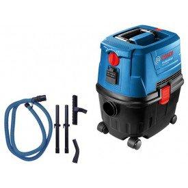 aspirador de po e agua profissional 1100w gas 15 ps bosch
