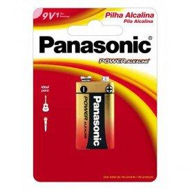 bateria alcalina panasonic 9v c1 bateria